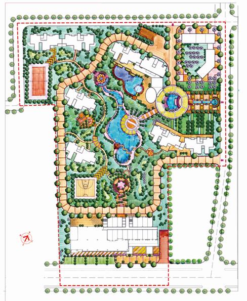 相关专题:小区总平面cad小区规划总平面小区总平面规划旅馆设计总平面