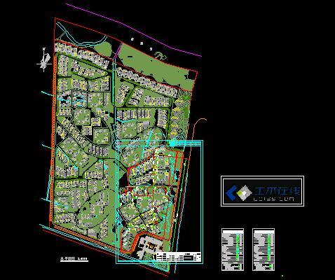 小区总平图小区规划总平图居住小区总平图建筑总平图庭院设计总平图