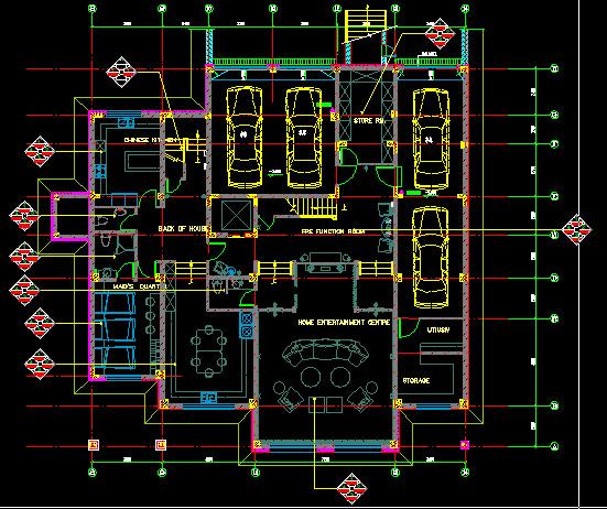 设计图分享 120平方房子平面设计图 > 大别墅平面设计图
