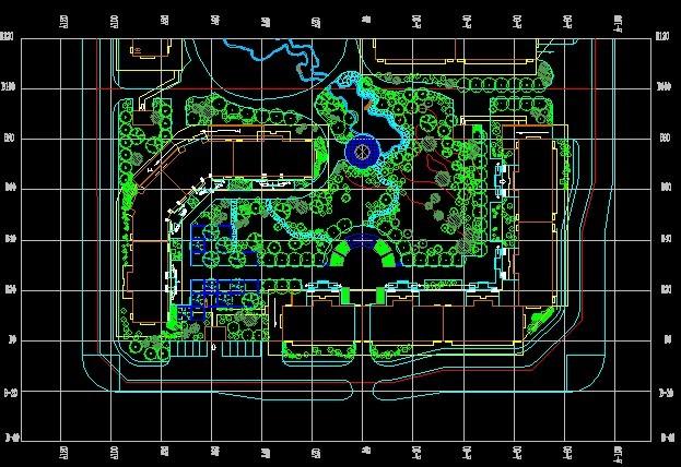 植物种植施工图