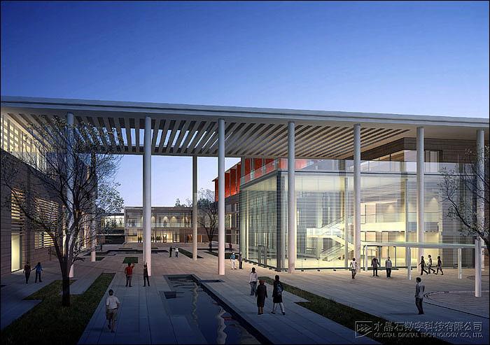某医院五层行政综合楼建筑设计方案图高清图片