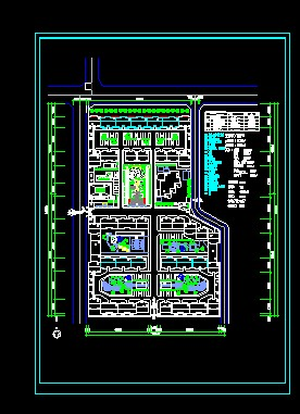 ps建筑平面总图素材