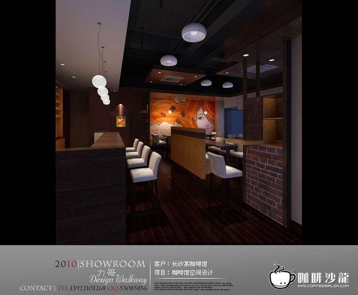 咖啡厅效果图 小型咖啡厅效果图 咖啡厅装修效果图 欧式咖啡厅效果图