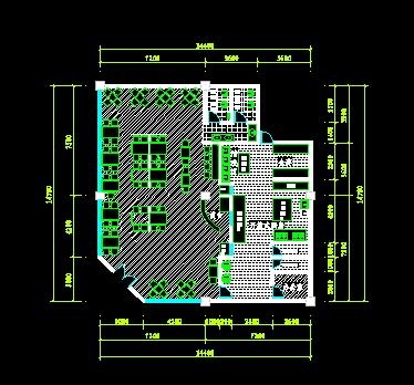 中式工具v工具平面图_cad图纸显示CAD图标快餐下载不图片