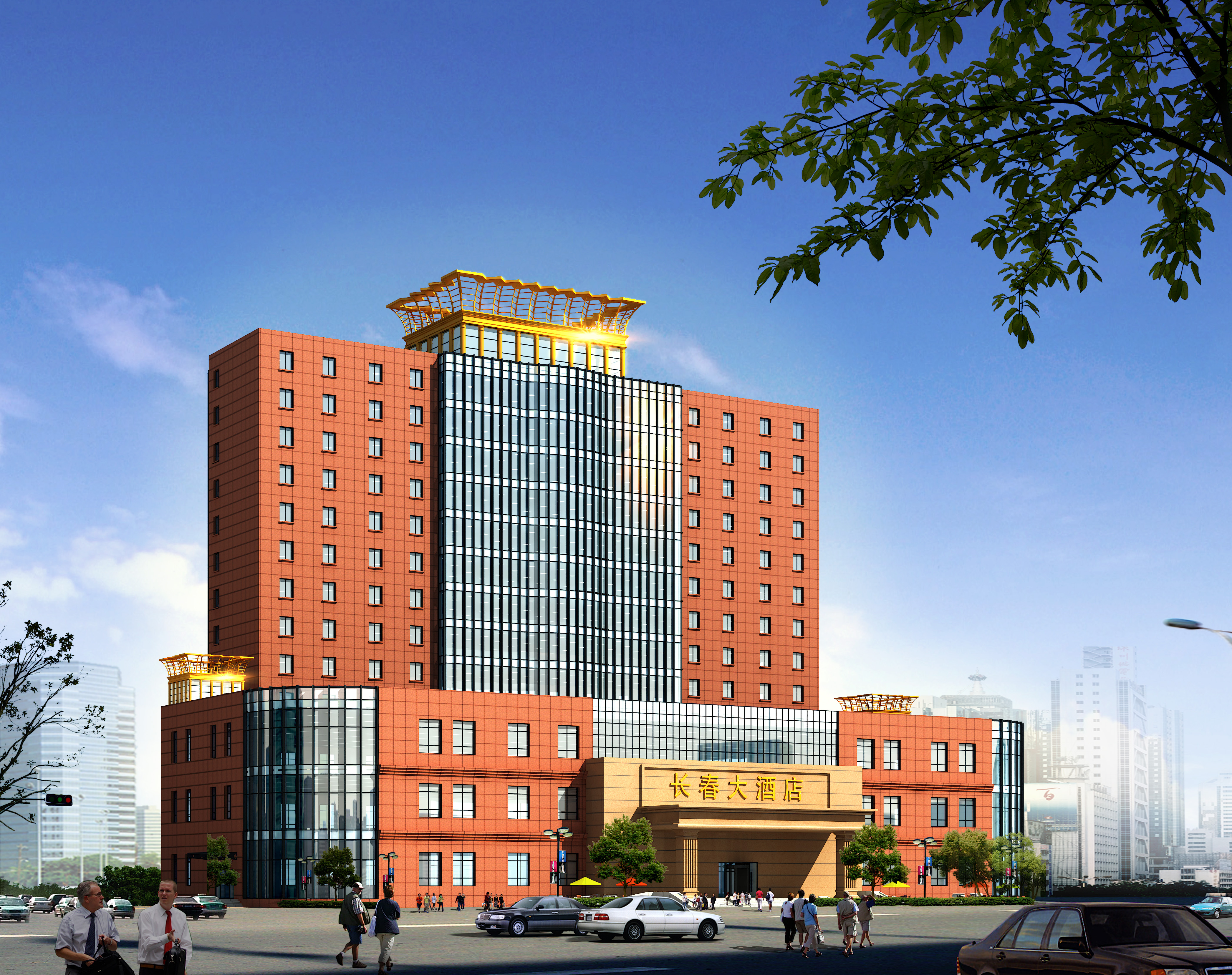 图纸 建筑图纸  酒店设计    13层 酒店毕业设计 包括平面图 立面图