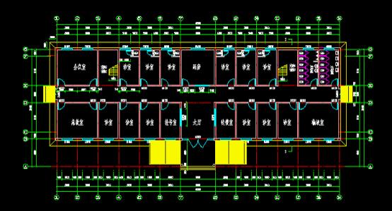 自己设计的医院门诊楼设计图