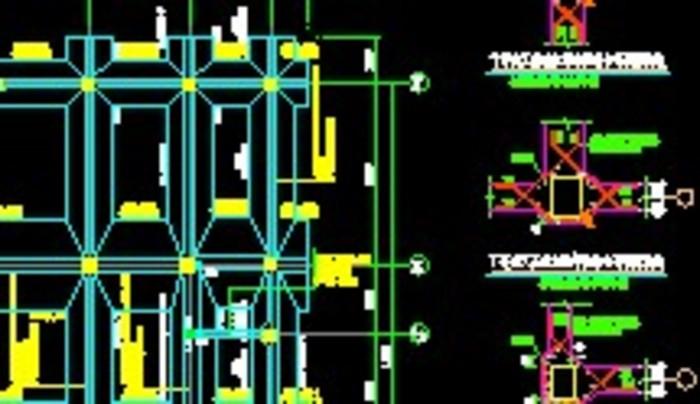条形基础设计施工图图片