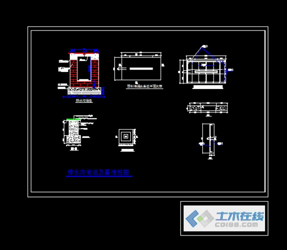 标准400米操场全套方案施工图 某地高中1层风雨操场全套结构施工图