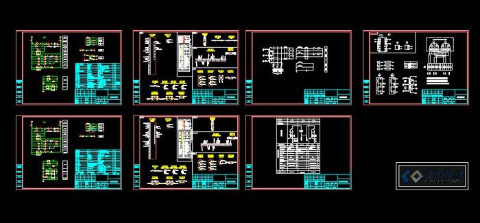 vs1断路器柜,一次系统图及二次接线图供大家参考.