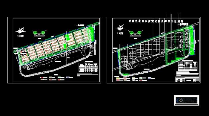 某地区抗震墙结构安置房结构设计图纸 农村民宅抗震构造详图(2008年合