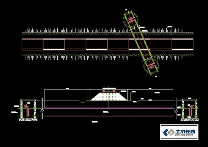 管道穿越铁路设计图