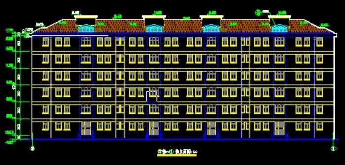 某地二层坡屋面别墅建筑施工图全套图纸 咖啡厅装修cad施工详图_建筑
