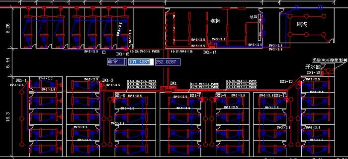 工程模具临时用电平面图图落料图纸板房图片