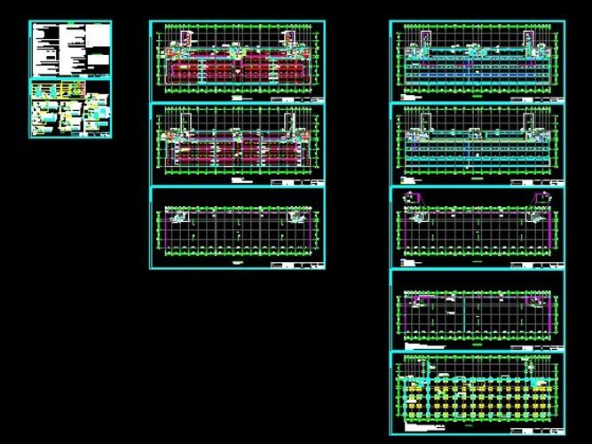 某知名代工企业电子装配标准厂房电气施工图
