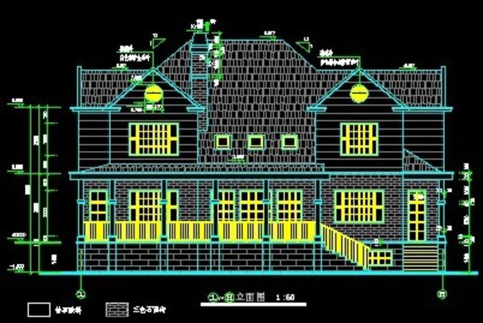 某小区别墅建筑图纸