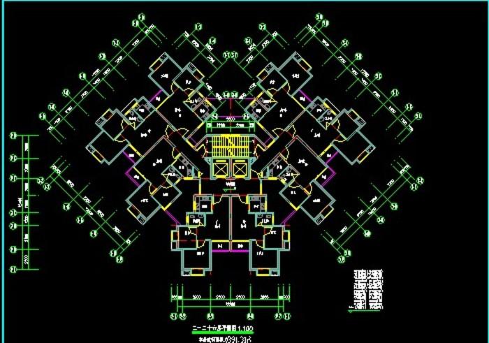 出租屋电气设计图