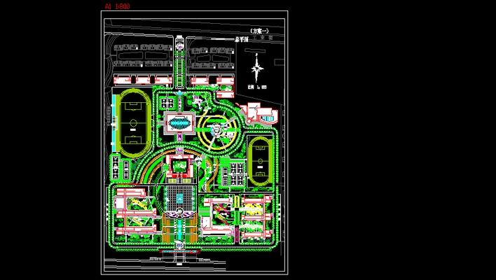 相关专题:校园规划 校园规划cad 校园规划设计cad 校园绿地规划设计