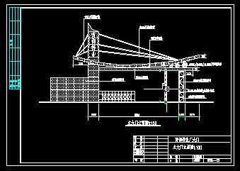 工厂大门建筑图