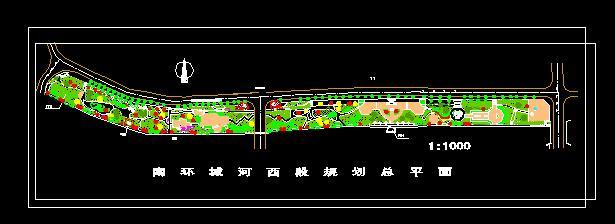 规划总平面图 公园设计总平面图 泪珠公园总平面图 公园规划平面图