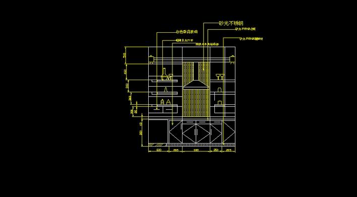 现代高层建筑手绘图