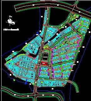 某历史街区保护与整治规划总平面图