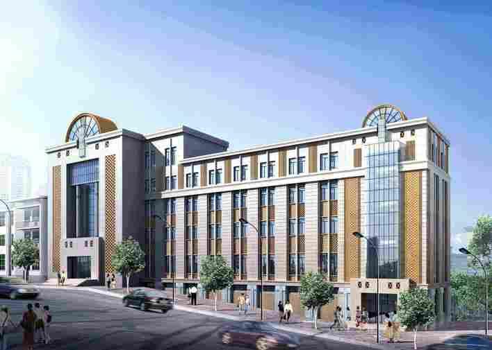 宾馆装修设计效果图  所属分类:宾馆酒店施工图 商业建筑 建筑图纸