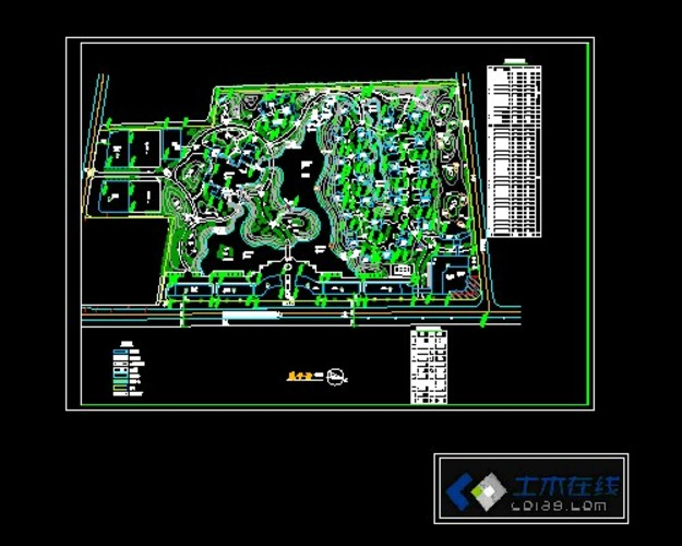 植物园规划总平面图