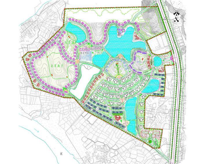 相关专题:老母山水库规划 远洋山水小区平面图 小区规划 小区的