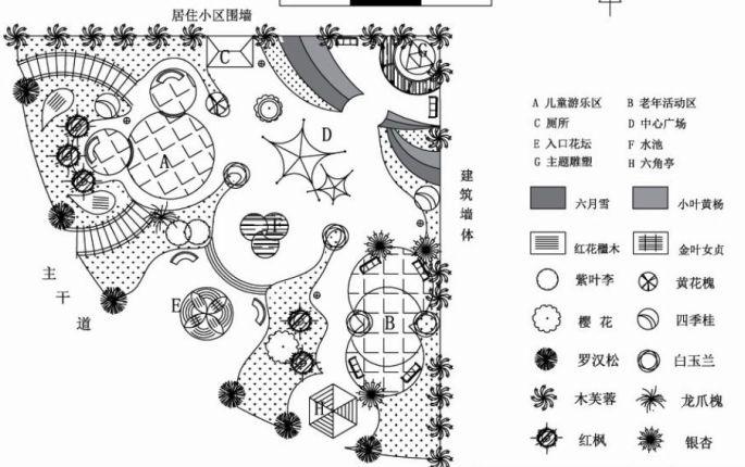 小游园景观绿地规划设计