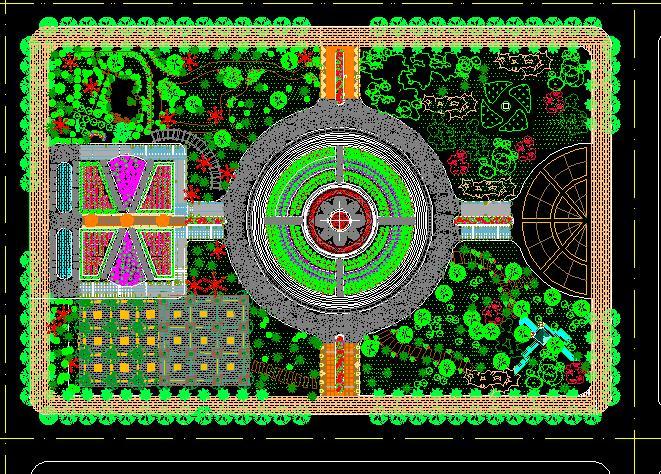 北京世纪华侨城欢乐森林生态公园概念规划-edsa 某公司自主设计龙湖水