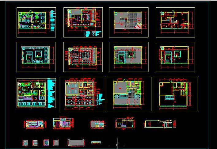 餐厅cad施工图 餐厅cad平面图  所属分类:餐厅设计 商业建筑 建筑图