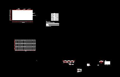 某单层厂房结构图(梯形屋架 无吊车 水泥搅拌桩地基处理) 某地2#厂房