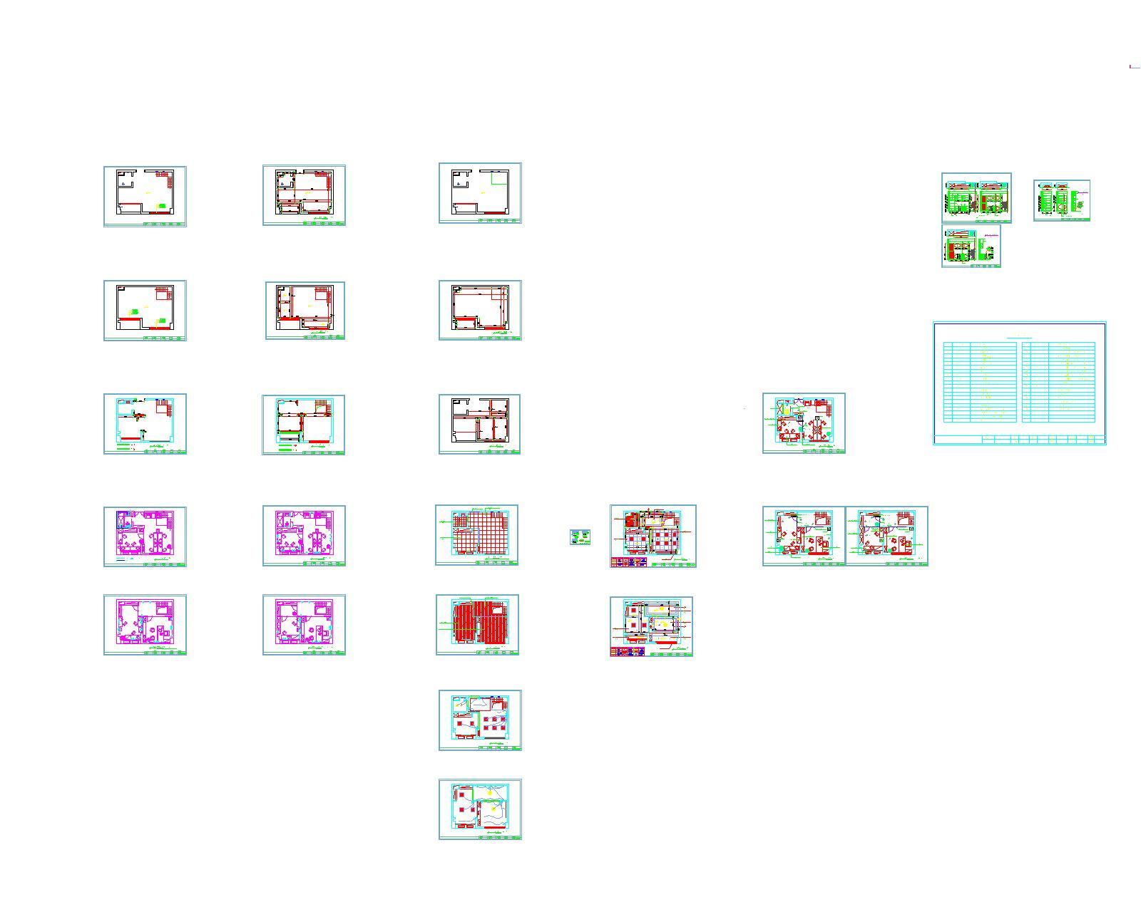 平房办公室设计图
