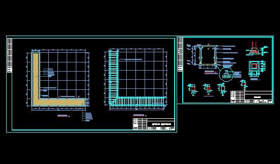 简介:混凝土廊架平面图