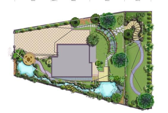 图纸 园林设计图 别墅平面图参考  上传时间:2009-07-09 所属分类