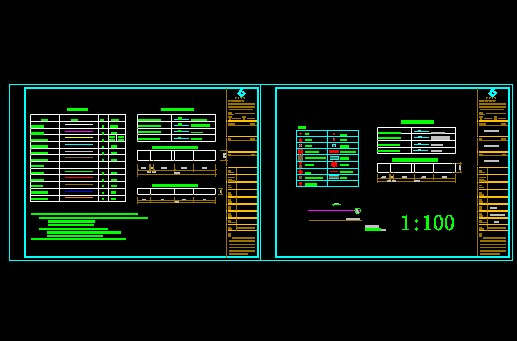 4-98水利水电工程制图标准水力机械图