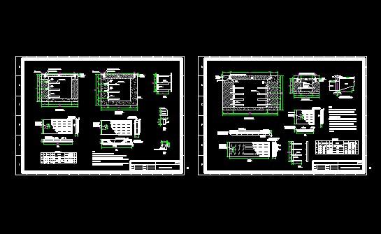 某小区1250kva的10kv箱式变电站电气施工图 10kv箱式630kva变电站电气图片