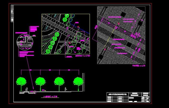 成都置信未来广场竣工图(成都市风景园林规划设计院)