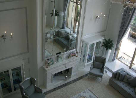 梁志天白色欧式风格别墅完整照片