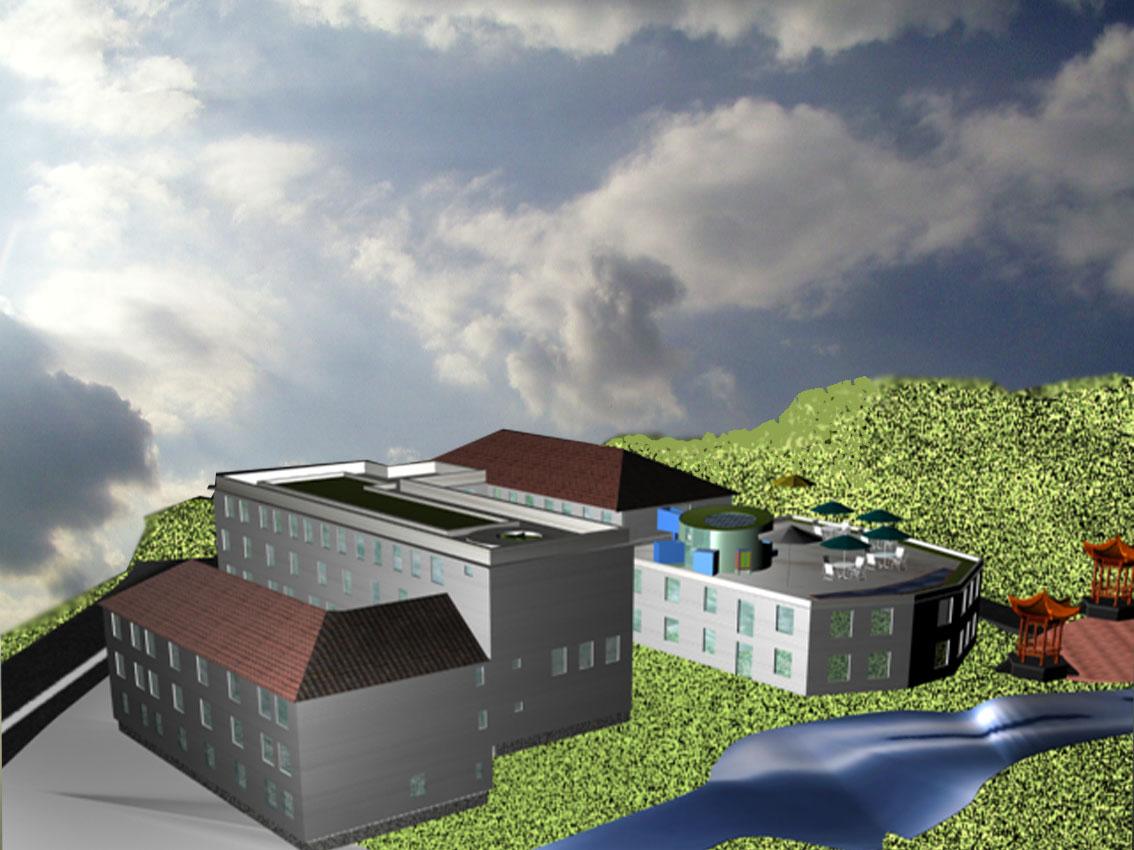 图纸 建筑图纸  山地旅馆设计   山地旅馆建筑设计  相关专题:山地图片