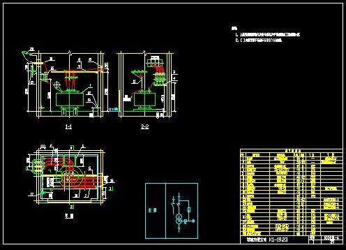 03d201-4变压器室布置图cad版cad六边形正怎么图片