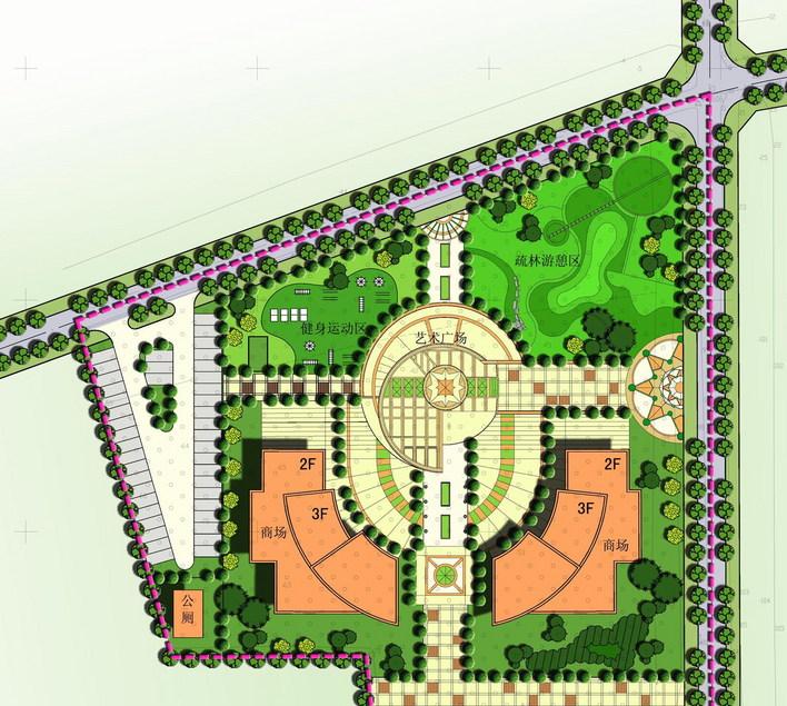 社区服务中心规划设计(有彩平)