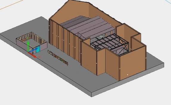 图纸 建筑结构图  木结构    木花架 木屋顶 木桁架 木装饰 木楼层 木