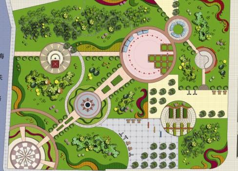 小区公共绿地景观设计