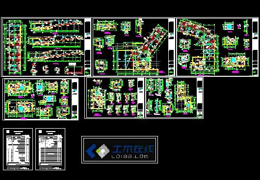 某小区人防地下室全套结构施工图