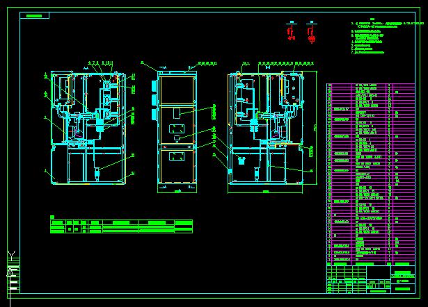 KYN28中置柜PT+避雷器自慰图_cad表情总装下载微信图片图纸图片