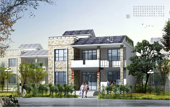 农村建一幢住宅楼总面积200平方两层半楼房建材需要多少 不包内装