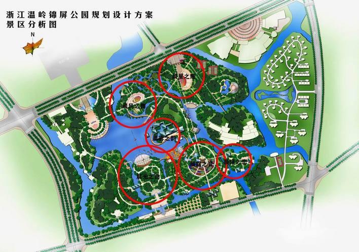 锦屏公园   大学校园绿化设计  相关专题:公园 公园台阶 公园雕塑