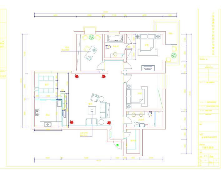 图纸 建筑图纸  家装施工图   家装施工图  相关专题:家装施工图 家装