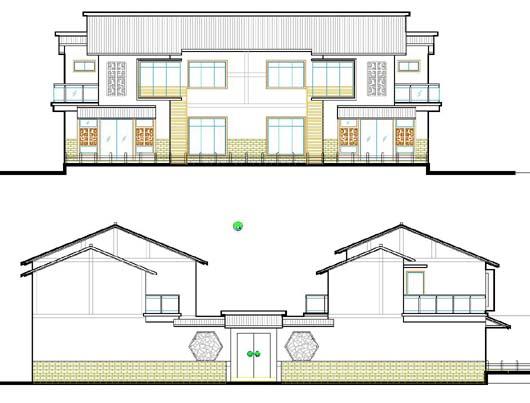 四合院建筑设计方案